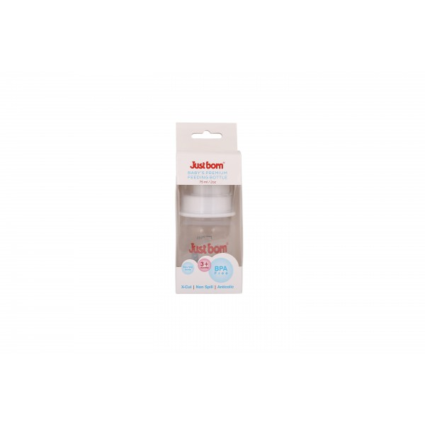 Just Born® Premium Feeding Bottle 2Oz / 75ML