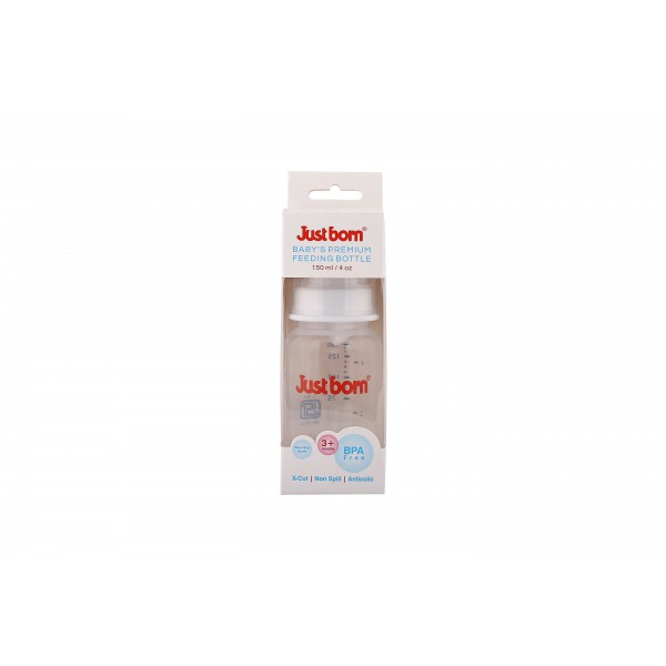 Just Born® Premium Feeding Bottle 4Oz / 150ML