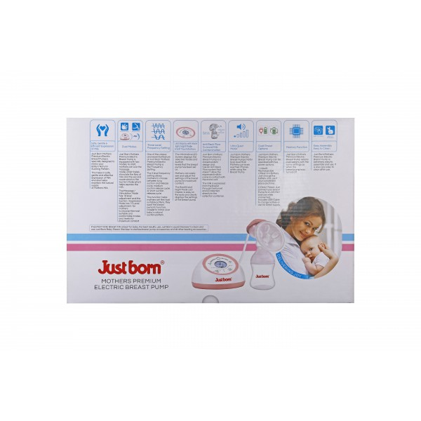 Just Born® Premium Mother's Electric Breast Pump