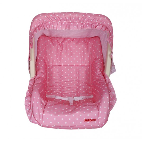 Just Born® Baby Luxury Infant Carry Cot  With Mosquito Net