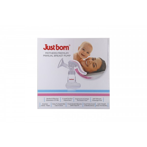 Just Born® Premium Mother's Manual Breast Pump
